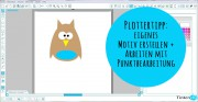 Plottertipp - Motiv erstellen mit Punktbearbeitung