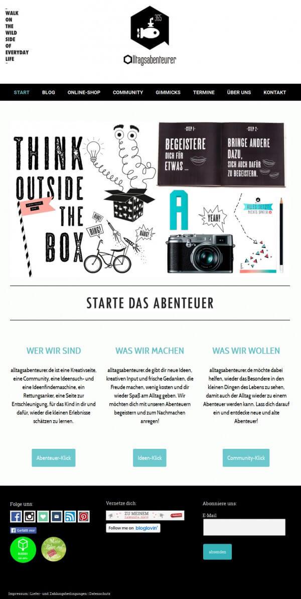 alltagsabenteurer.de - die Kreativseite für alle Alltagsabenteurer