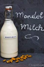 Selbstgemachte Mandelmilch ♥