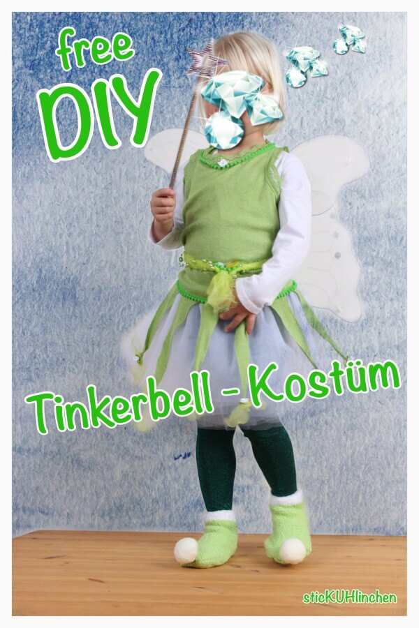 DIY Tinkerbell Kostüm