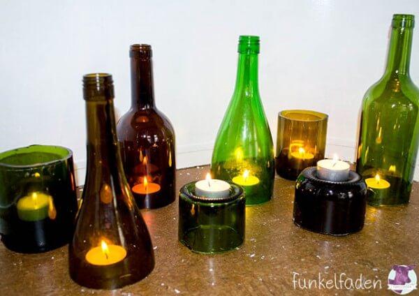 upycling tutorial flaschen schneiden handmade kultur. Black Bedroom Furniture Sets. Home Design Ideas