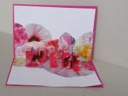 DIY zum Valentinstag: Pop-Up Karte basteln