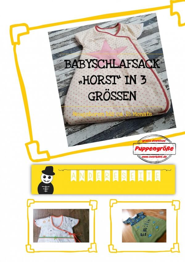 "Babyschlafsack ""Horst"""