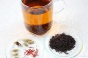 Kardamon-Safran-Tee