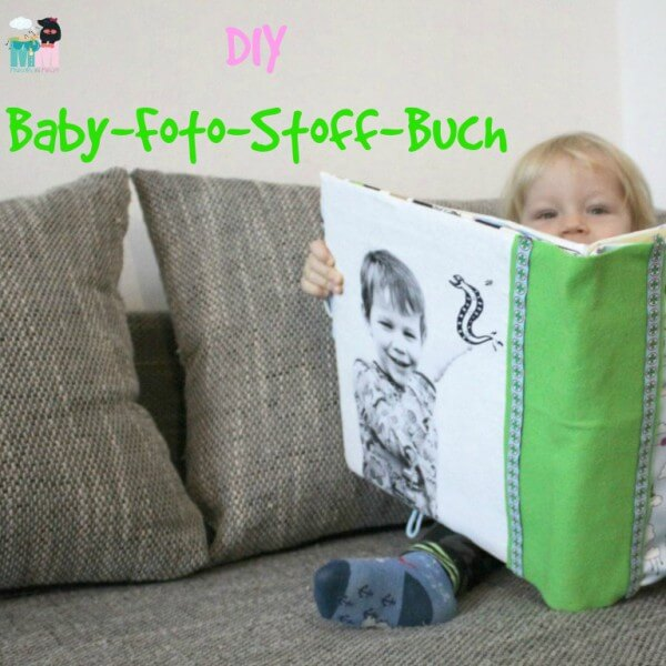 Foto Stoffbuch für Babys – DIY – nähen lernen