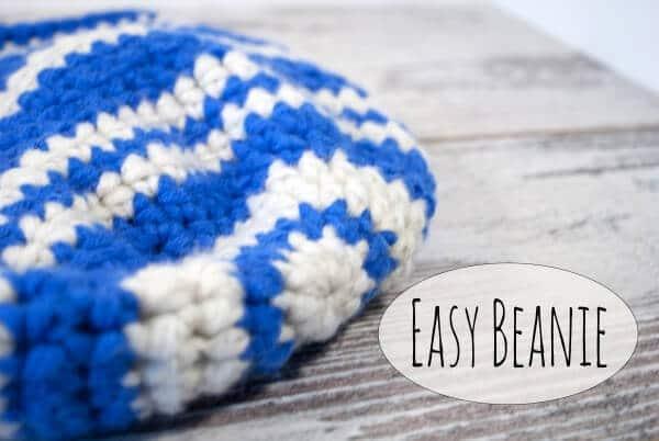 Easy Beanie - einfache Häkelmütze