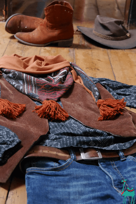 Nähen für Teenies, schnelles Cowboy Kostüm