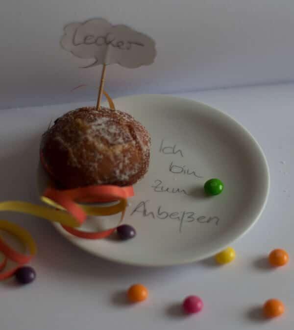 Berliner oder Pfannkuchen -  egal Hauptsache lecker!