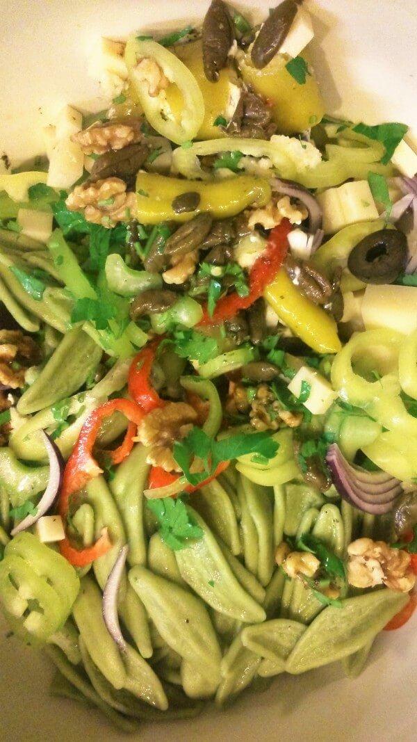 Rezept: Ultra-Blitz-Beauty-Nudelsalat (vegetarisch)