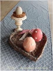 Ostereier filzen