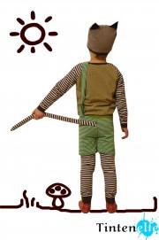 Nähen für Kinder - Ein Findus-Kostüm