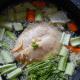 Thailändische Kokosmilch Krevetten Suppe