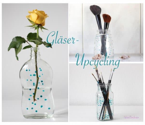 Upcycling Deko-Gläser