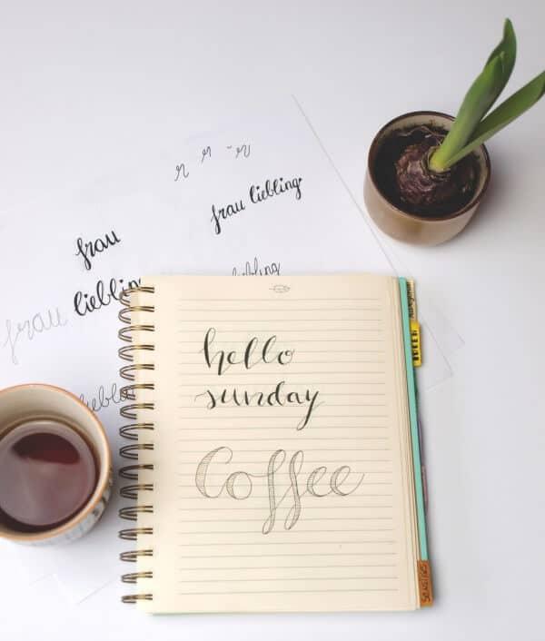 Lettering, Handlettering und Brushlettering