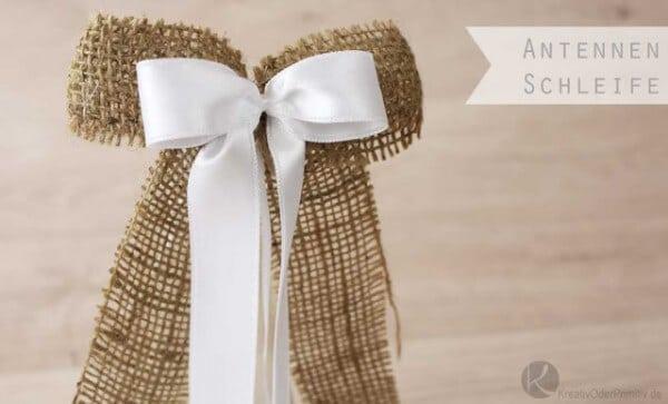 Antennenschleifen Autoschleifen Zur Hochzeit Handmade Kultur