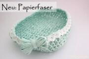 Schale aus Papierfaser