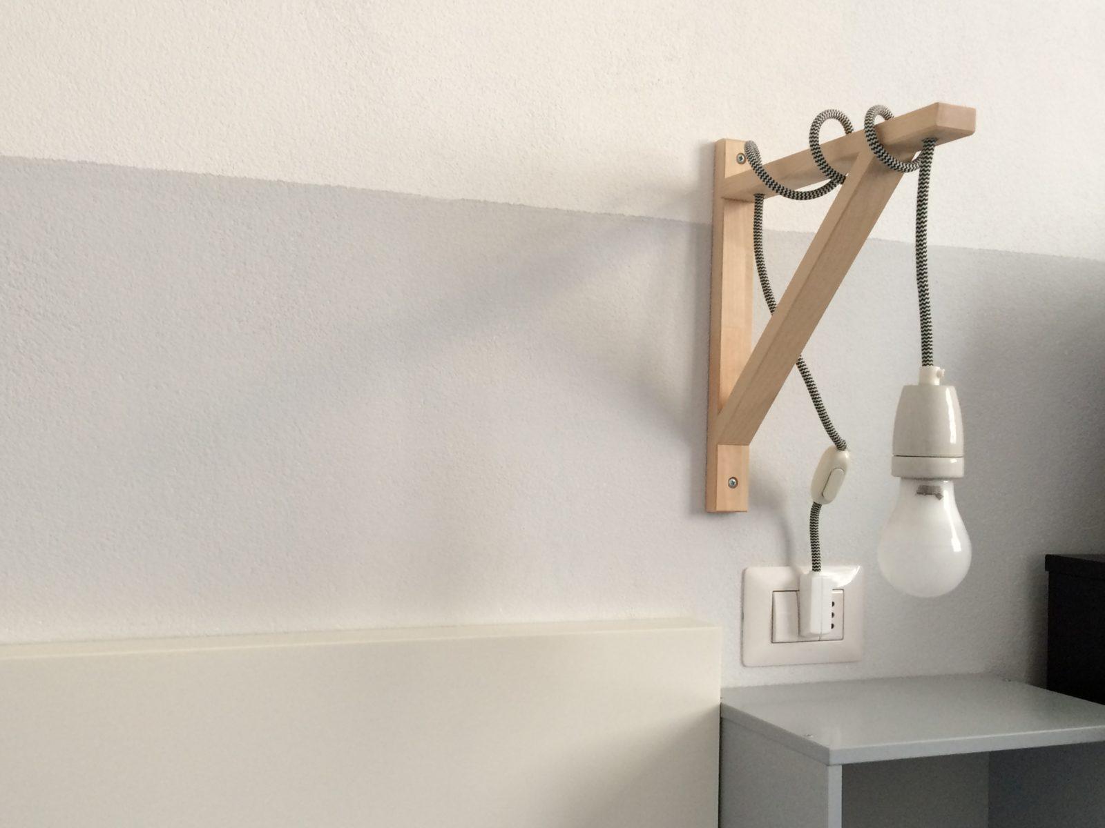 nachttischlampe als ikea hack handmade kultur. Black Bedroom Furniture Sets. Home Design Ideas