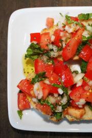 Italian Spirit - Bruschetta & Gnocchi an Tomatensauce