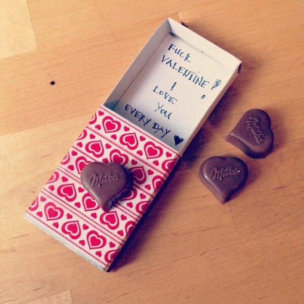 Geschenk zum Valentinstag schnell und einfach