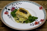 Mediterranes Kartoffel-Oliven-Püree mit gebratenem Kabeljau-Filet ♥