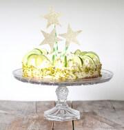 {lecker:  } Limetten Quark Torte
