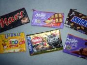 Taschen aus Schokoladenfolie