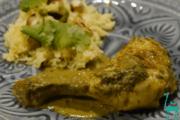 Koriander Kokos Hähnchen Curry