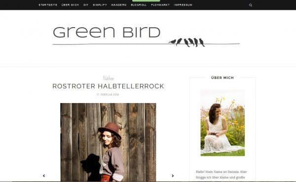 Green Bird - DIY, Handarbeiten und Deko