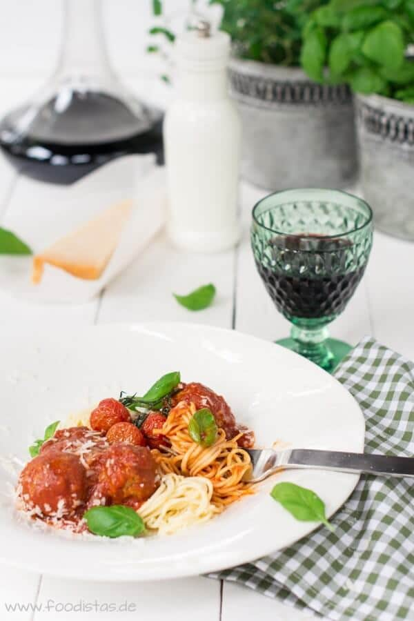 Spaghetti Polpette von den [Foodistas]