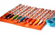 Organizer für Stifte, Häkelnadeln, Pinsel oder Werkzeug nähen