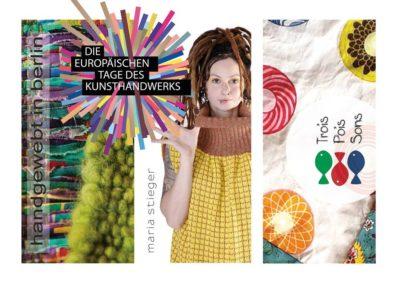 Offene Ateliers: Europäische Tage des Kunsthandwerks 01.- 02.April 2017 im  Textilatelier PA58 Berlin -Wedding, Prinzenallee 58