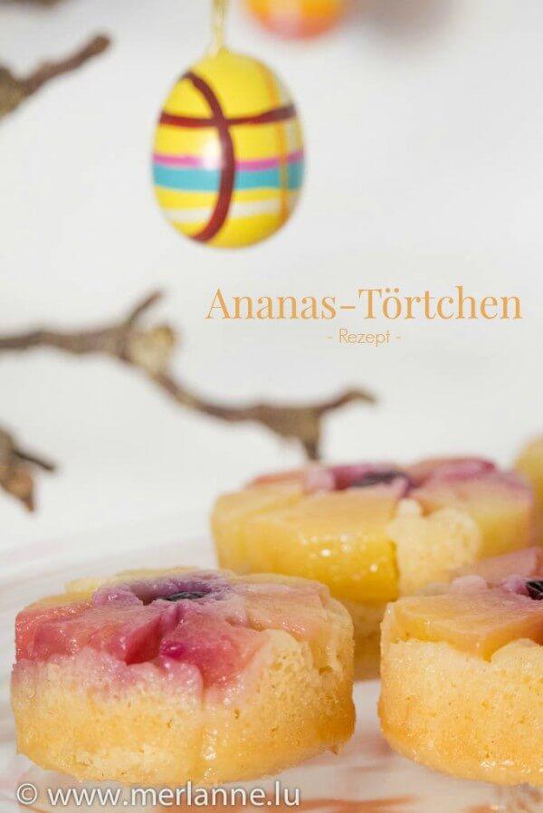 Fruchtige Ananas-Törtchen