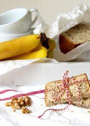 Schnelles Rezept: Bananenbrot mit Walnüssen