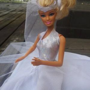 DIY-Nähset Cuci-Traumhochzeitskleid für die Barbie