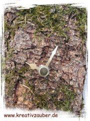 Uhren basteln aus Naturmaterialien