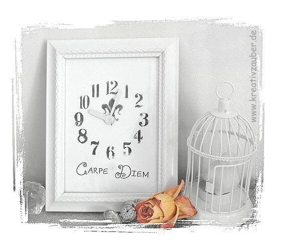 Uhren aus Bilderrahmen