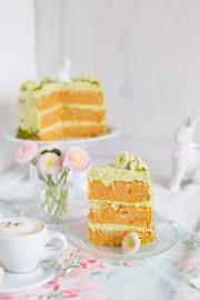 """♡""""Carrot Cake mit Pistazien Frischkäse!"""""""