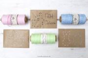 DIY bestickte Briefumschläge mit Ostermotiven