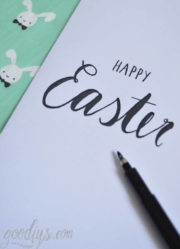 Happy Easter – Grußkarte (Printable)