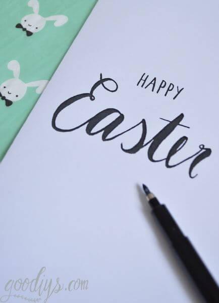 Happy Easter – Grußkarte (Printable)