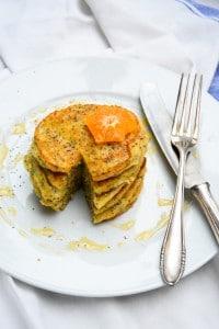 March Mornings: Orangen-Mohn-Pancakes