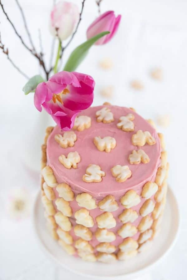 Eine Oster - Hasen - Torte
