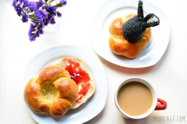 Osterbrunch | Essbare Eierbecher nach Omas Art