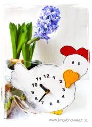 Huhn - Uhr (tolles Ostergeschenk)