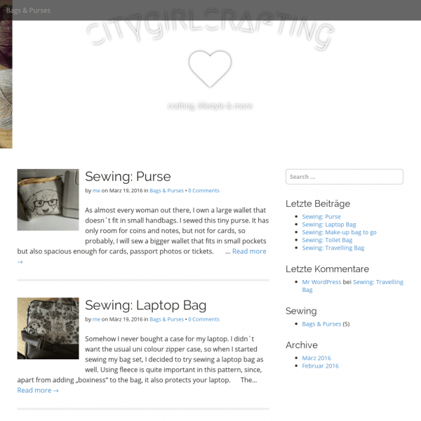 citygirlcrafting – crafting, lifestyle & more