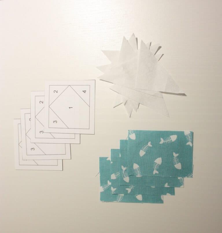 paperpiecing x block tutorial mit freebie handmade kultur. Black Bedroom Furniture Sets. Home Design Ideas