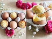 Kleine Osterüberraschung: leckerer Kuchen im Osterei