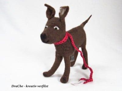 Kottütenspender - Stoffhund
