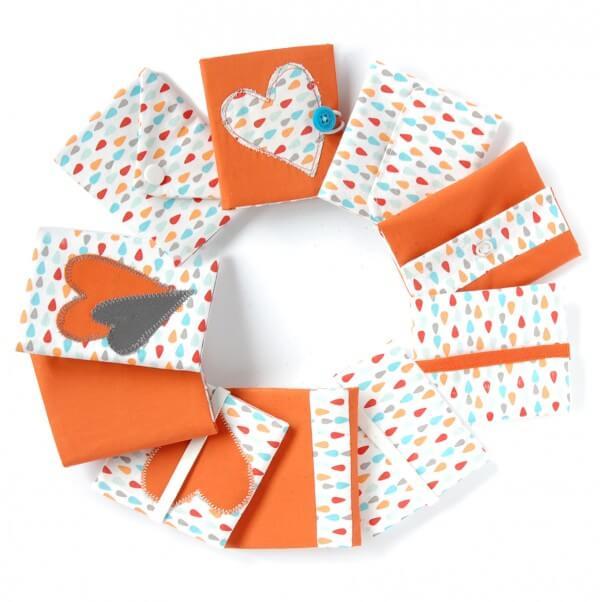 Kundenkarten-Tasche nähen