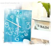 Le Bain - hochwertige Designeruhr selbst gemacht